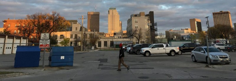 Winnipeg parking lot